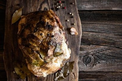 Roasted Pork with Balsamico and Rosemary