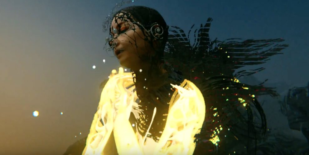 Björk Becomes a Spectral Being in New VR Video Notget — Watch