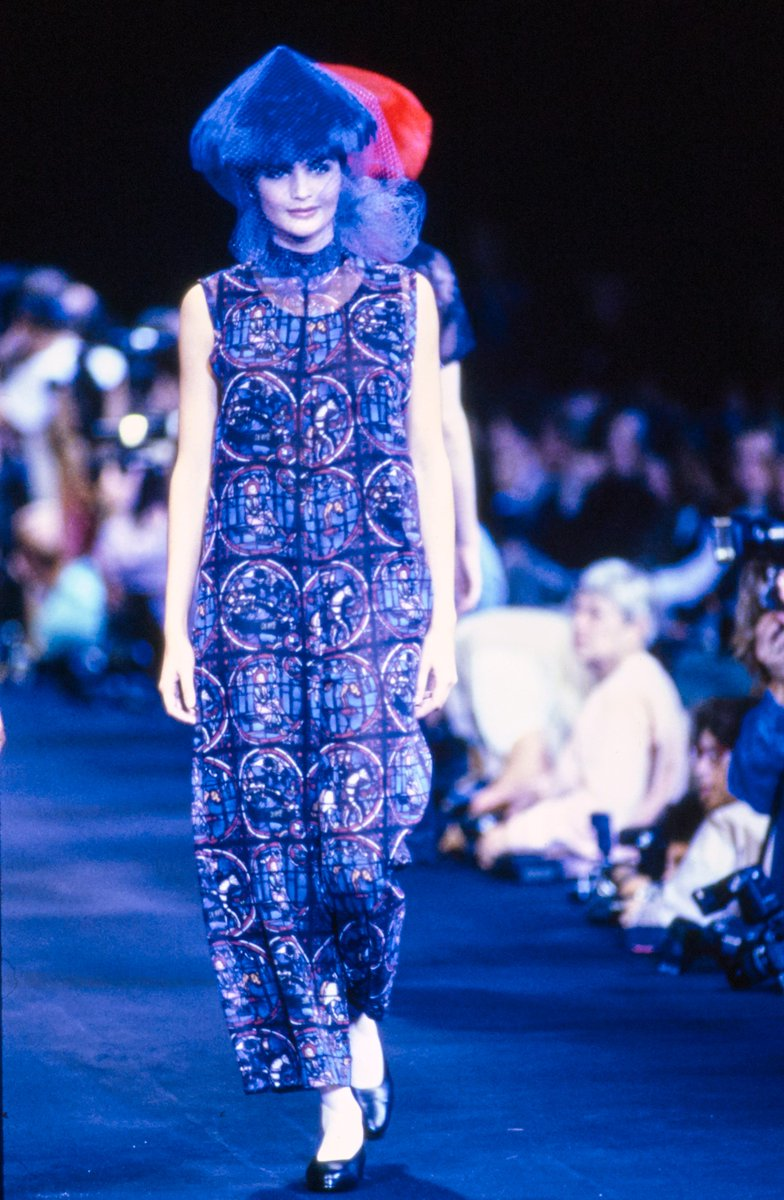 3e06f3dc20ee47 The full Comme Des Garcons 1991 Spring/Summer collection is now up on  Vogue's website #コムデギャルソン ...