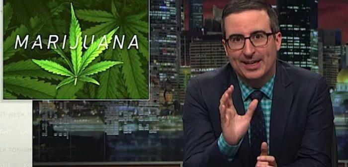 Last Week Tonight: John Oliver Rips on Federal Marijuana Rules