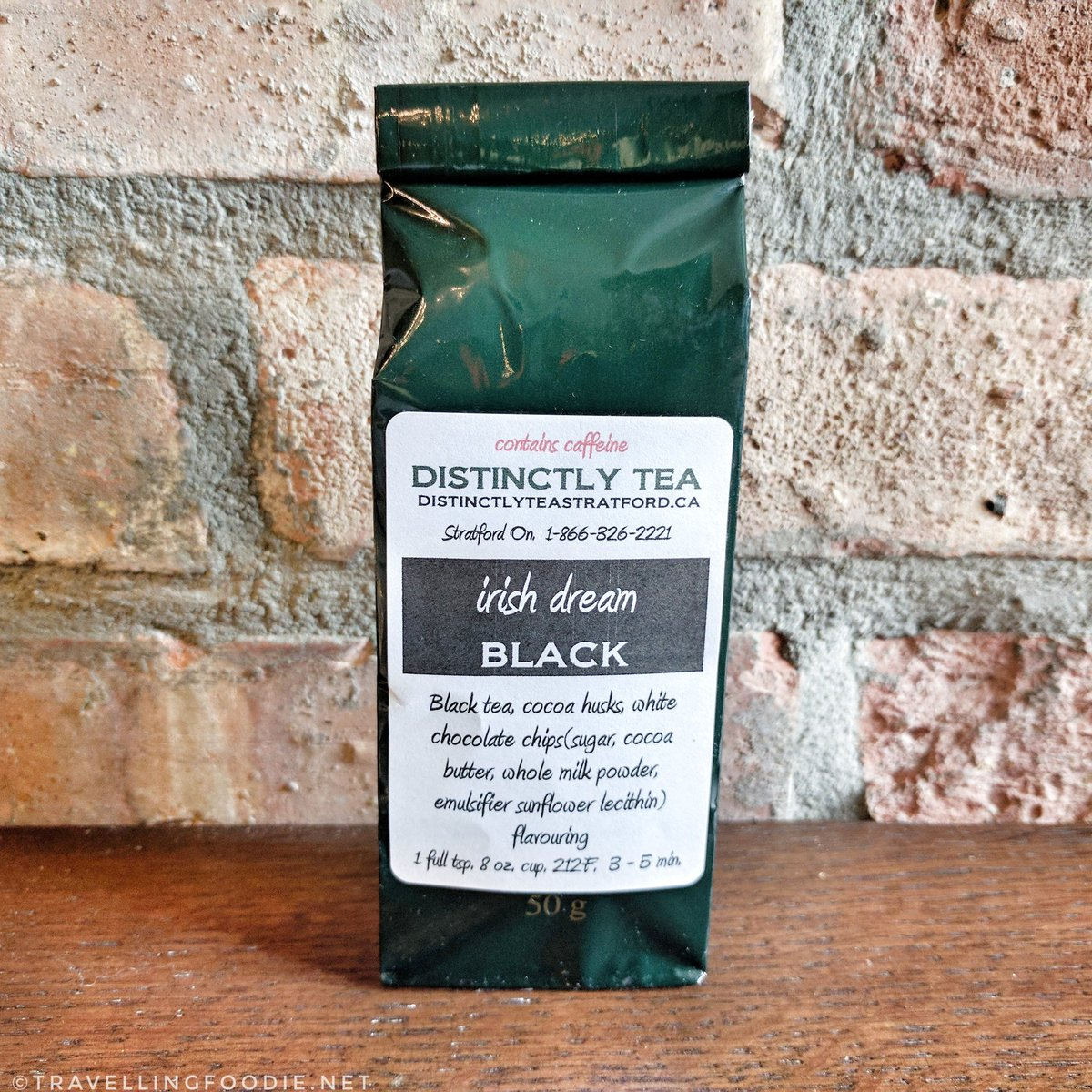 Savour Stratford Chocolate Trail: Distinctly Tea - Irish Dream Black Tea