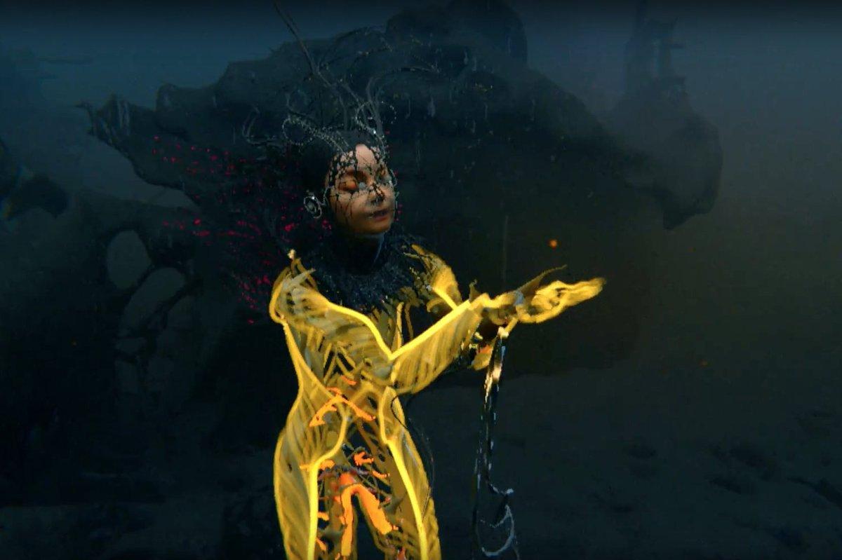 """Video: Björk – """"Notget"""""""