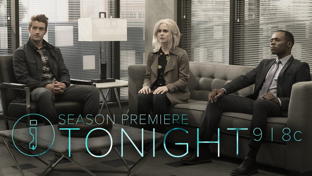 Team Z is back on the season premiere of #iZombie TONIGHT at 9/8c on The CW! https://t.co/sSx0lPe8eY