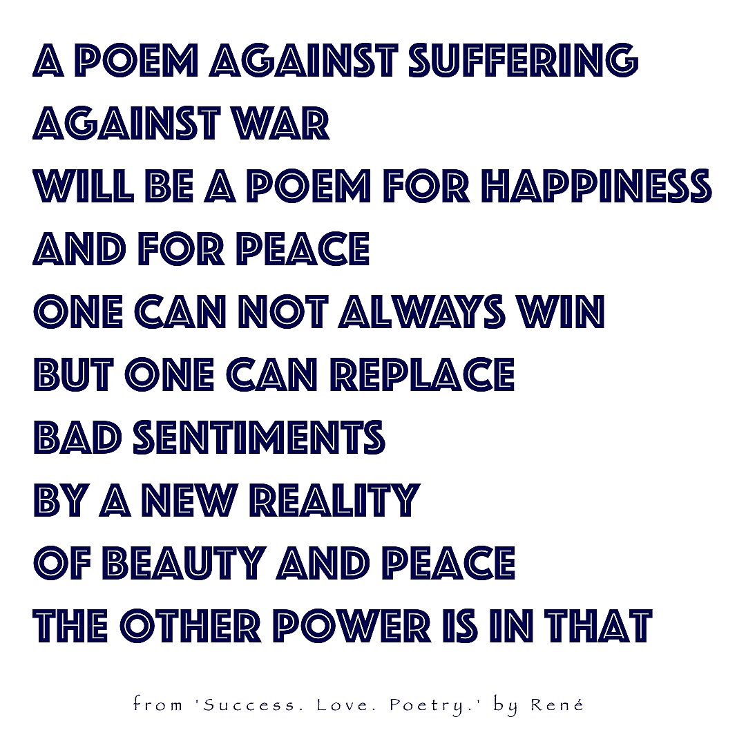 Successlovepoetry On Twitter A Poem Against Suffering Against
