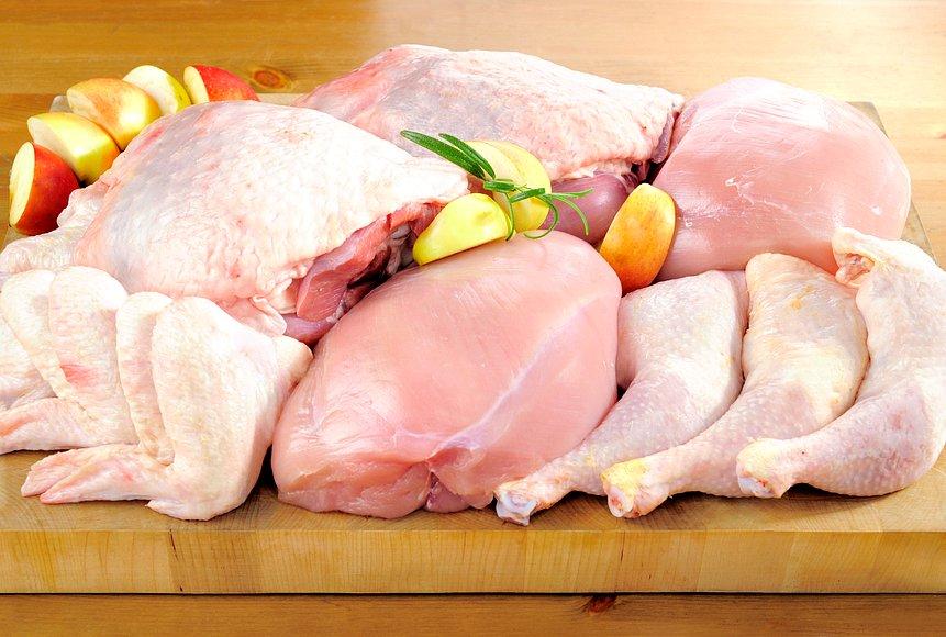 Какого цвета мясо курицы