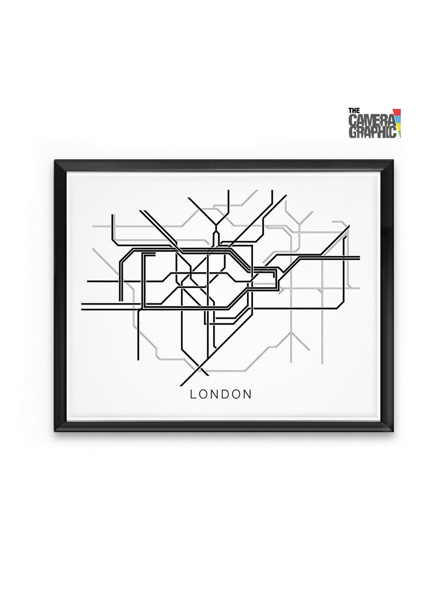 Map Of Central London To Print.The Camera Graphic On Twitter London Subway System Map Black