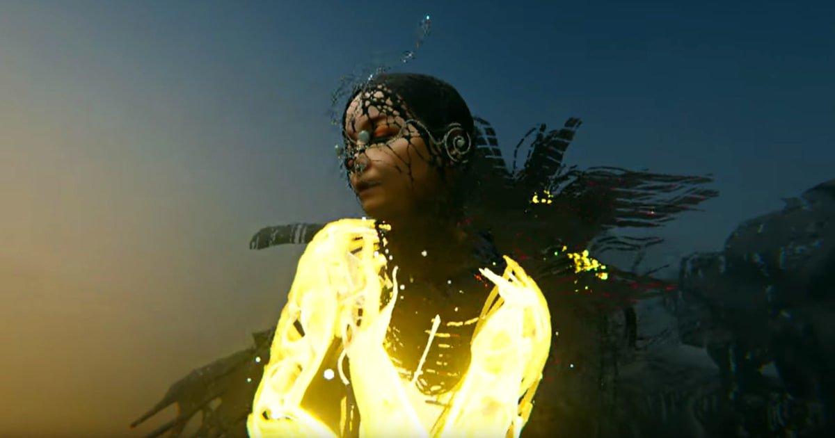 Watch Bjork's Vivid Virtual Reality 'Notget' Video