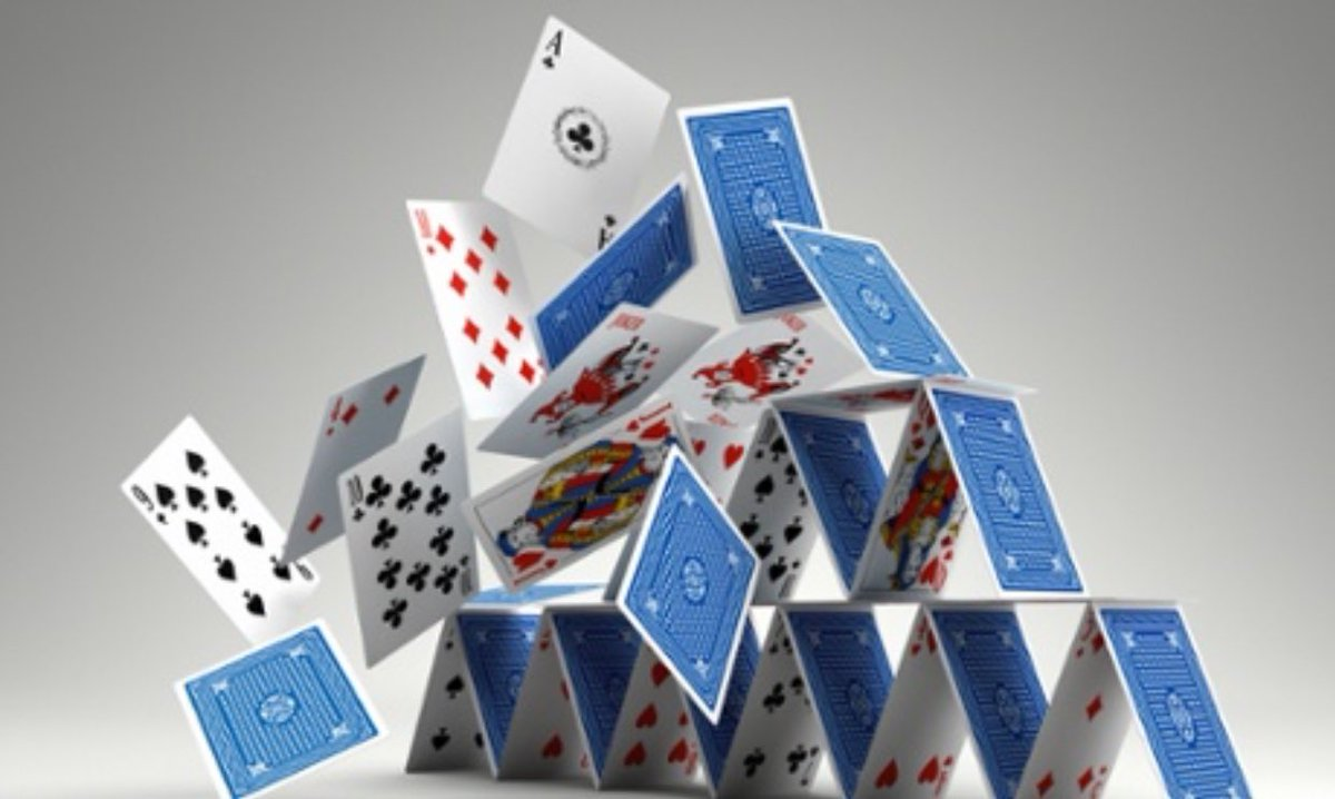 And The House Of Cards Comes Falling Down
