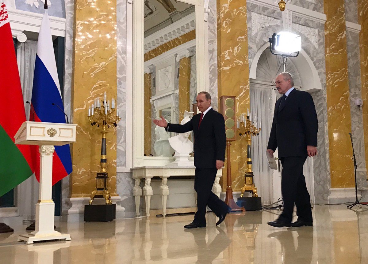 Putin: with Lukashenko we have settled all the economic differences of our countries, have agreed how we will work over the coming years