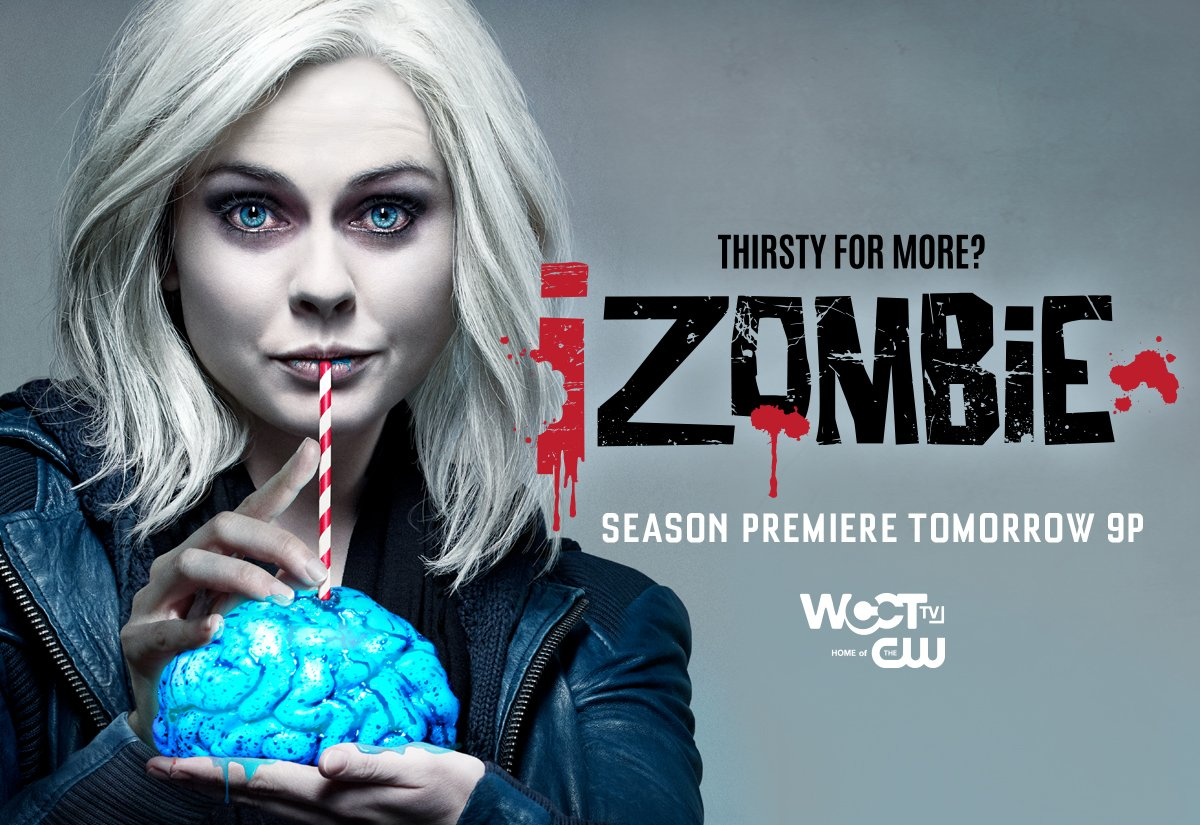 Who's thirsty for more @CWiZombie? Catch the Season Premiere TOMORROW at 9pm on @WCCTtv! https://t.co/8mPOUSppvn
