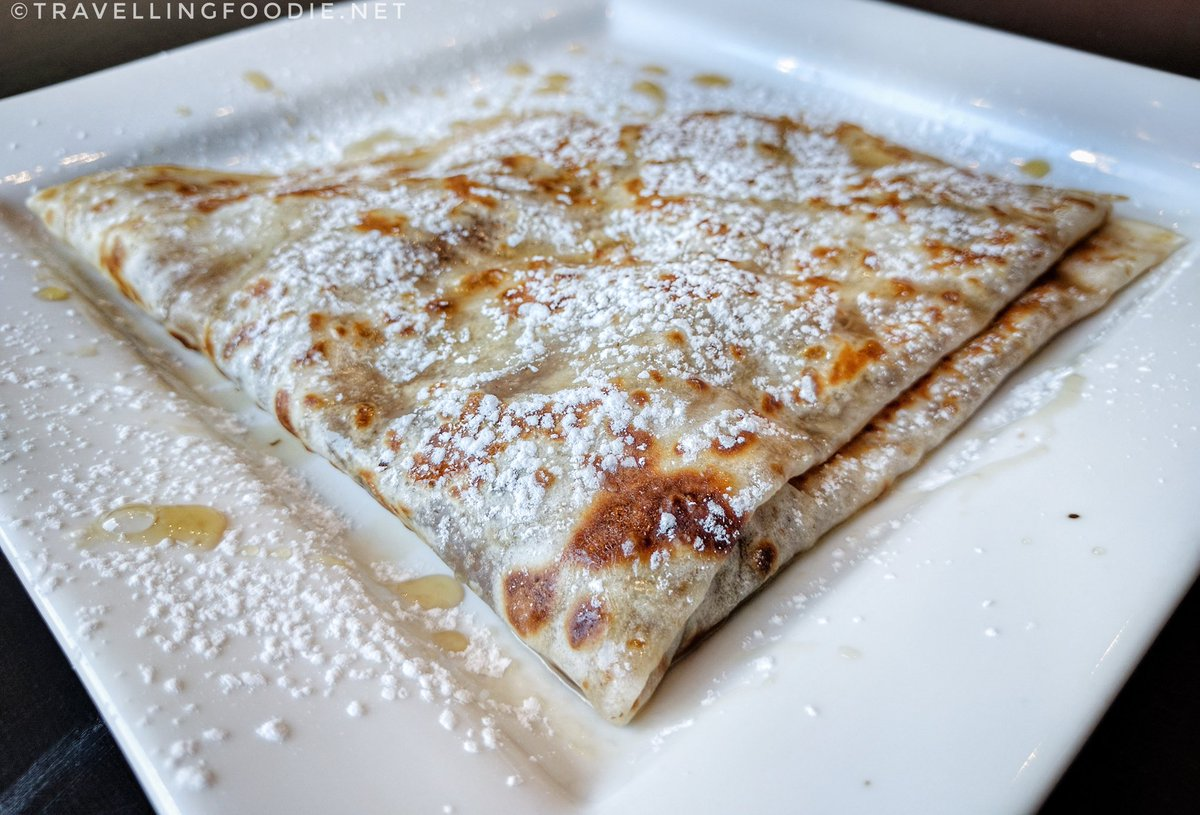 Savour Stratford Maple Trail: Pavillion Coffee and Crepes - Maple and Walnut crepe