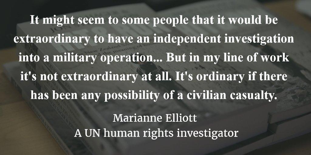 .@zenpeacekeeper: Independent investigations into civilian deaths not unusual Listen▶https://t.co/FwyLmuat8X https://t.co/JvLPAH306t