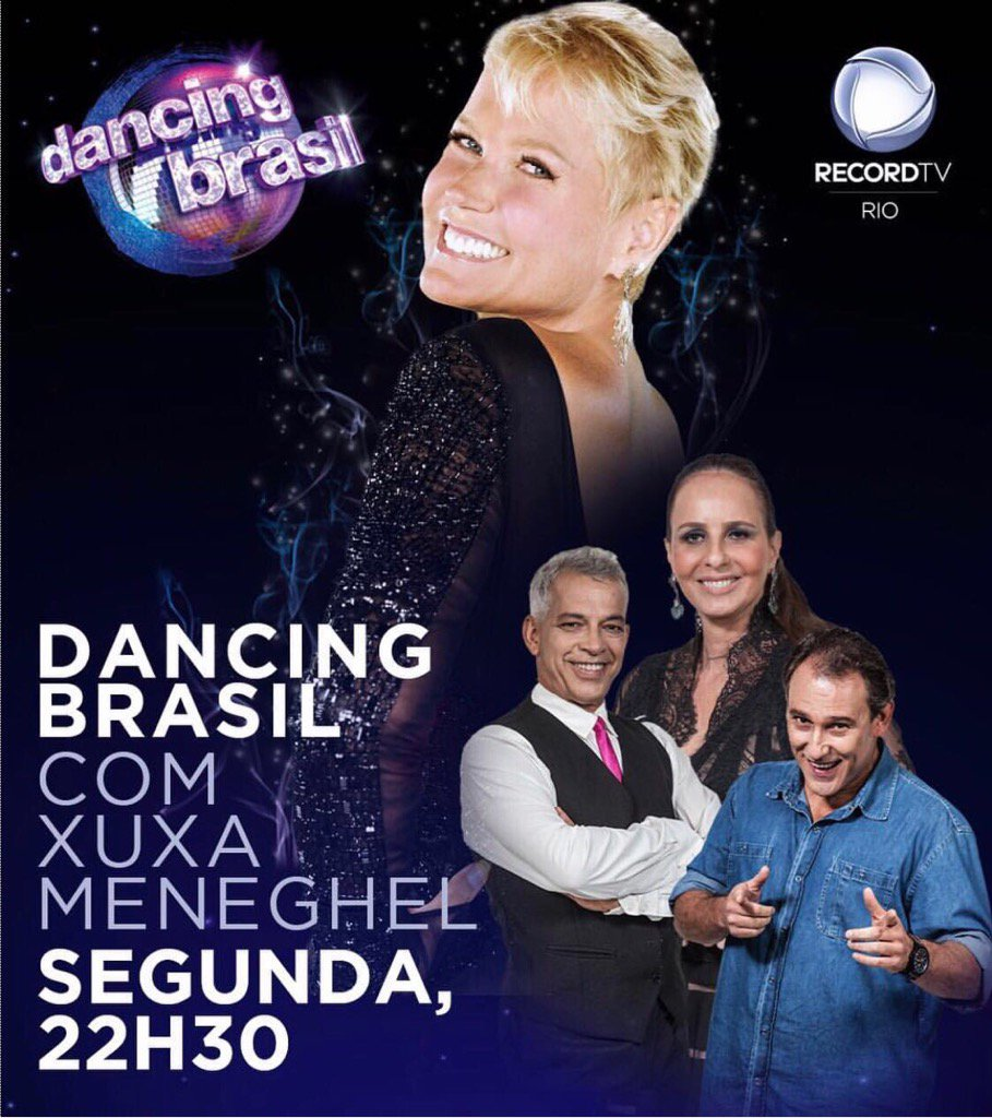 Dancing Brasil estreia hoje, logo após o Jornal da Record, às 22:30! Imperdível! Vem dançar com a gente! https://t.co/75r7eYMOLB
