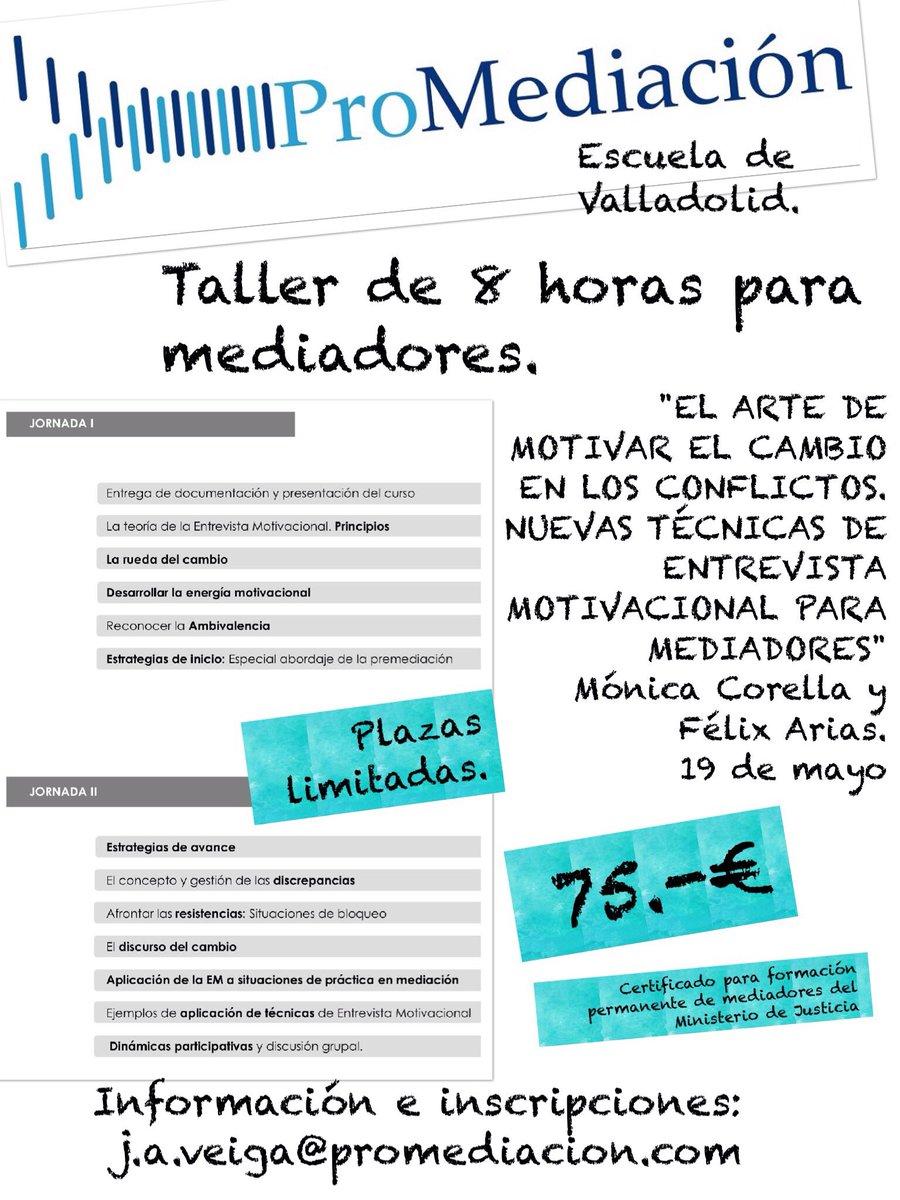Mediadores Vallad On Twitter Taller Entrevista