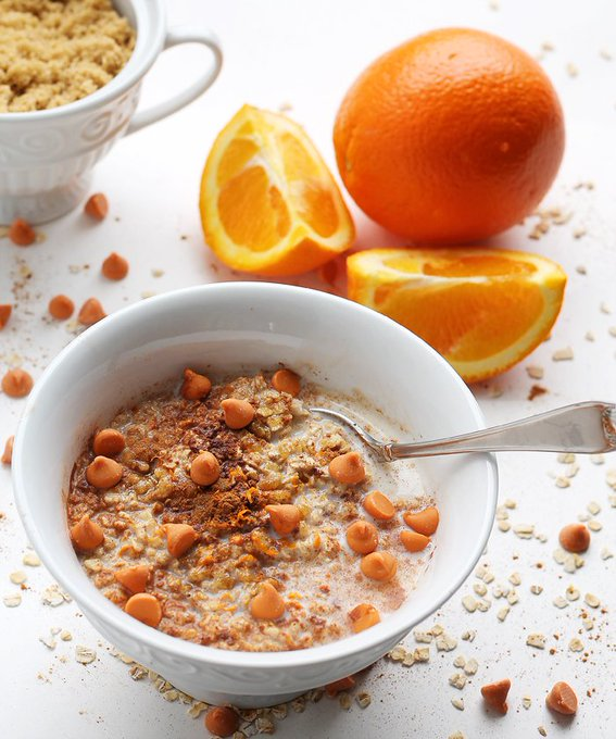 Oatmeal Scotchie Breakfast Bowl