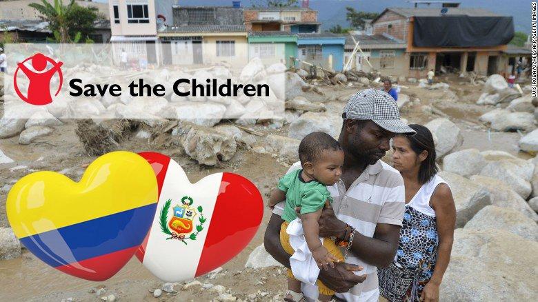 Le envío todo mi amor a los afectados por las tragedias en Colombia y Perú..... https://t.co/h7WudOB00g