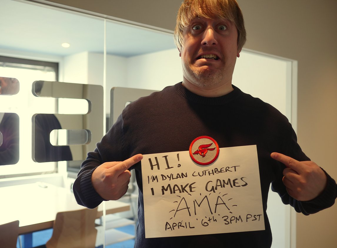 Our awesome boss and Star Fox guru @dylancuthbert is doing an AMA soon!  RT if you like to PARTY! https://t.co/xlAMNn0a21