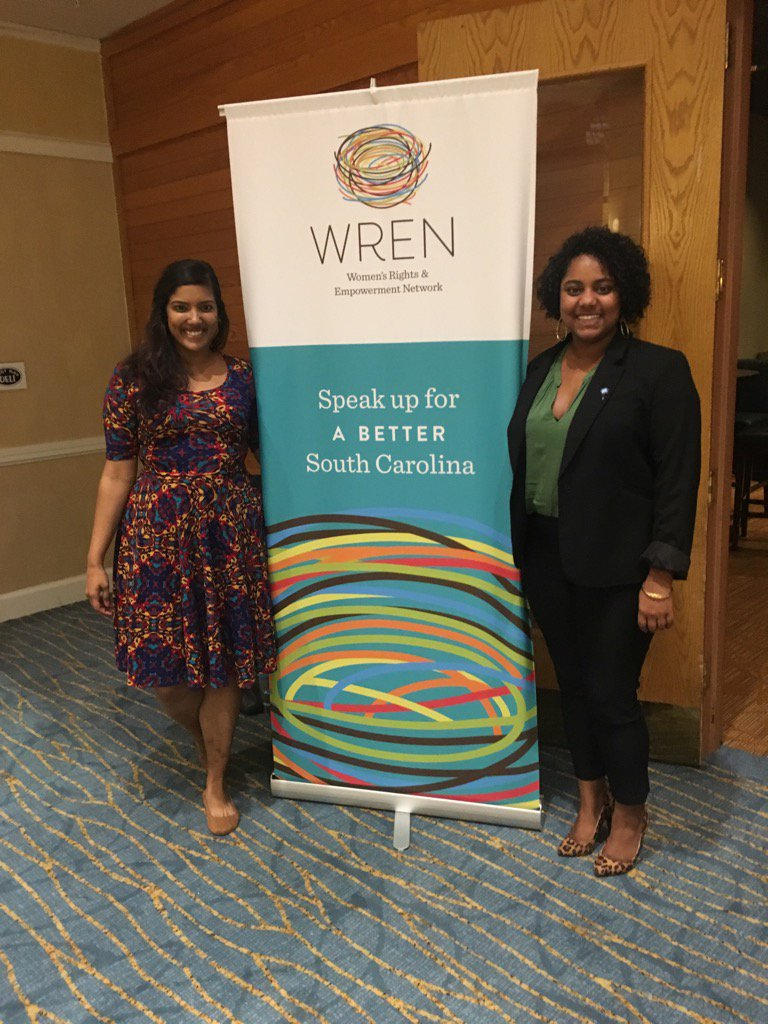 So inspired and enjoyed learning about ways to make #SC better for #women today! #WRENSummit @WhitTuck803 https://t.co/4klTZio4ZZ