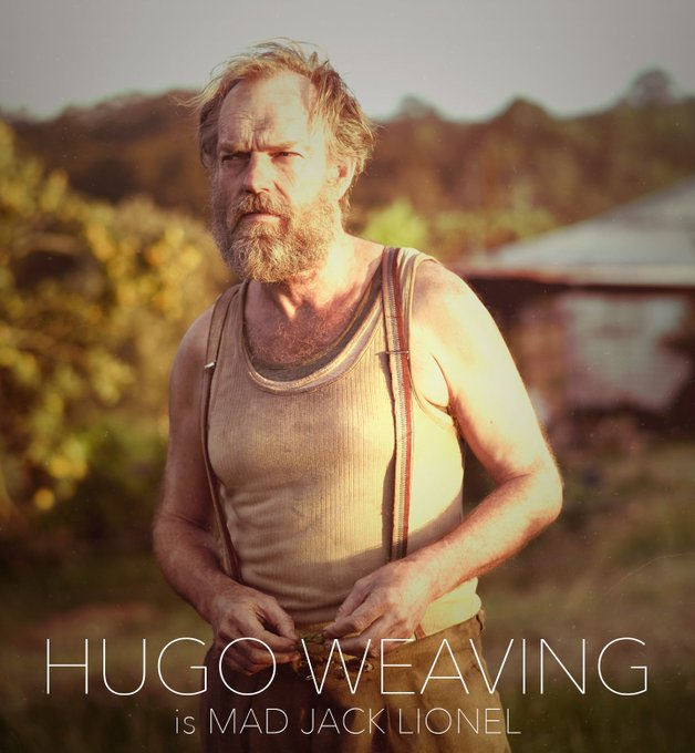 "Happy Birthday Hugo Weaving - hope you have a \""mad\"" celebration!!"