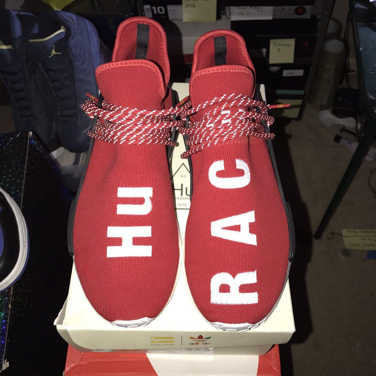 Adidas pharrell nmd human race Blue Size 8