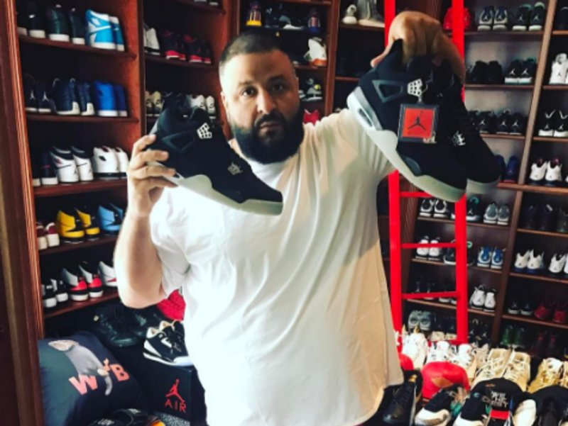 buy popular a7118 4ed10 Anyone want to trade with @djkhaled for his eminem x ...