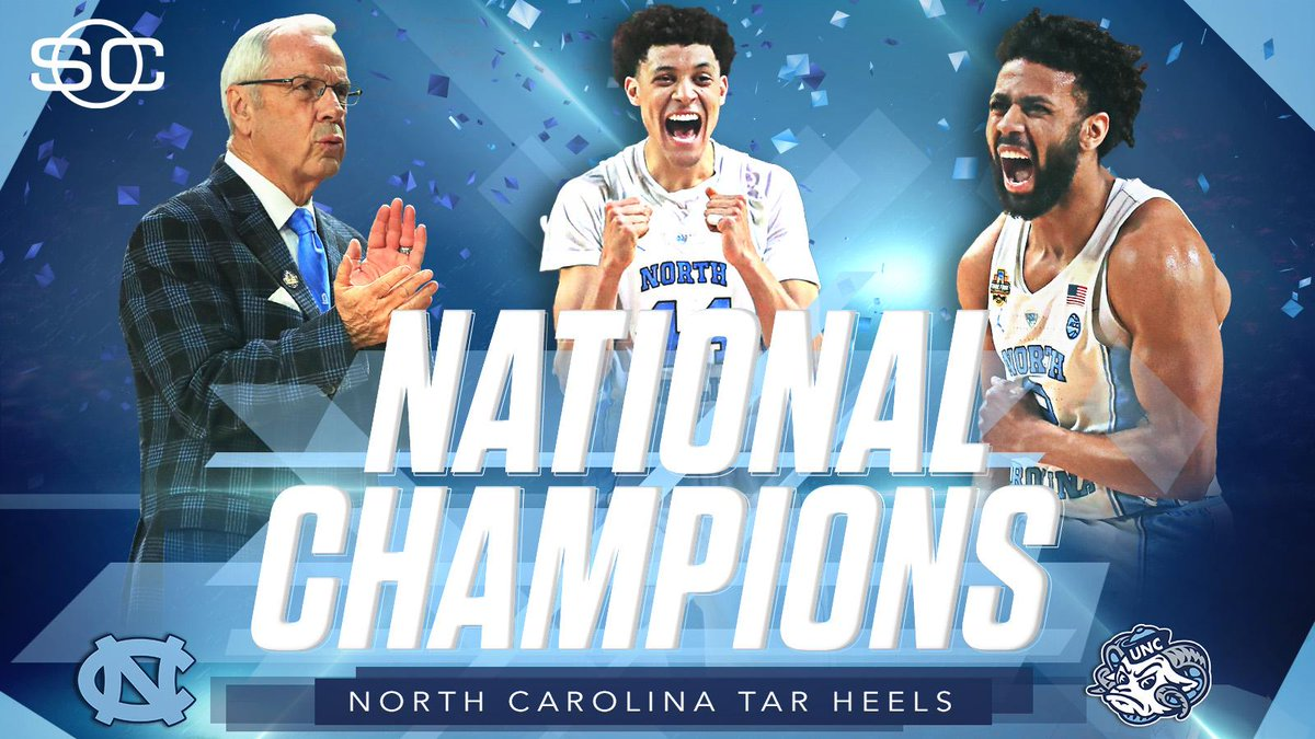 REDEMPTION!  UNC prevails to win the 2017 national championship!