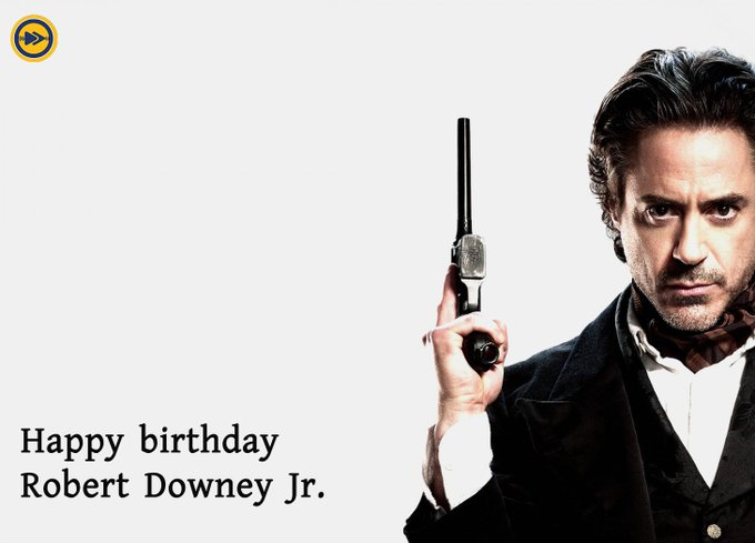 Happy birthday to Hollywood superstar, Robert Downey Jr!!!