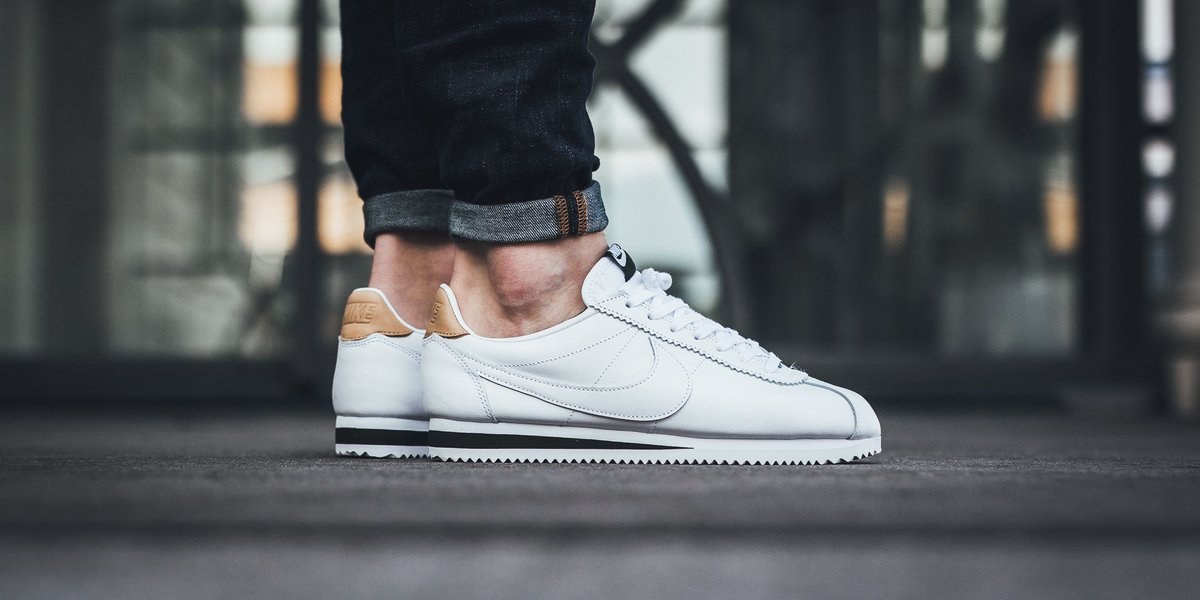 Nike Classic Cortez Leather White/ White-White