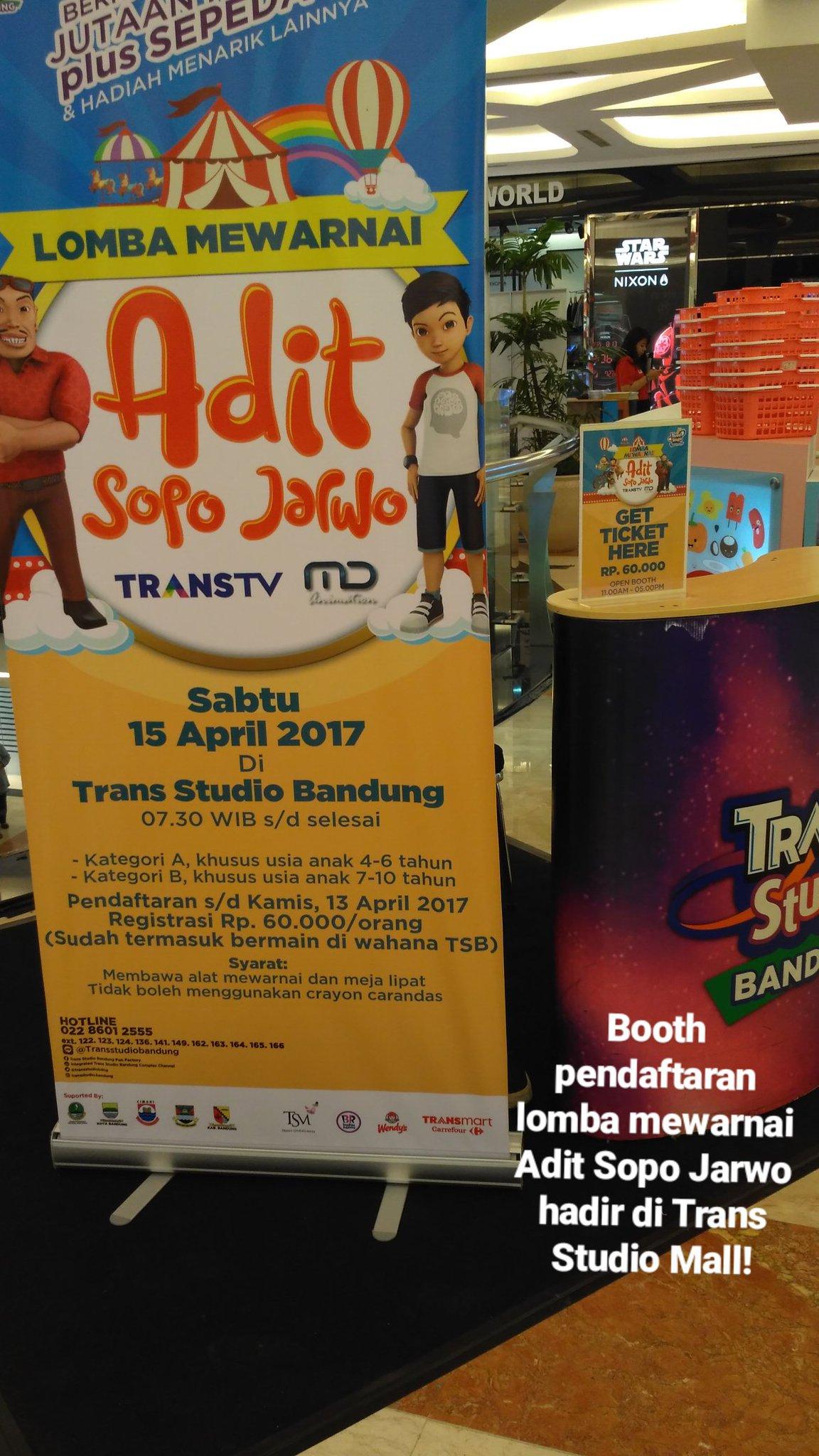 Trans Studio Bandung On Twitter Ayo Pendaftaran Lomba Mewarnai