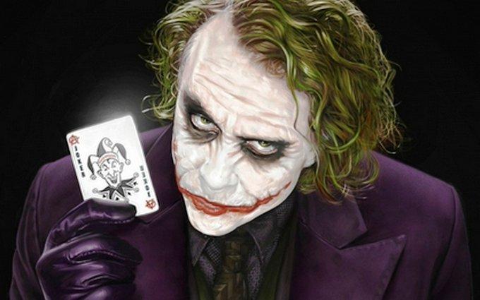 The Greatest Joker ever Happy Birthday Heath Ledger..