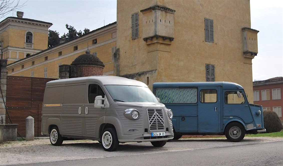 bc05d8aadc A body kit that transforms your new  Citroën Jumper into a classic Type H  Van...pic.twitter.com tV7rJpEEey