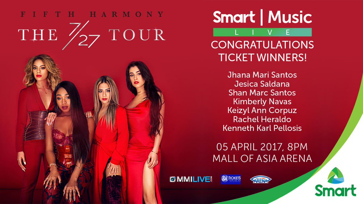 Smart On Twitter Congratulations To The Winners Of Vip Tickets For