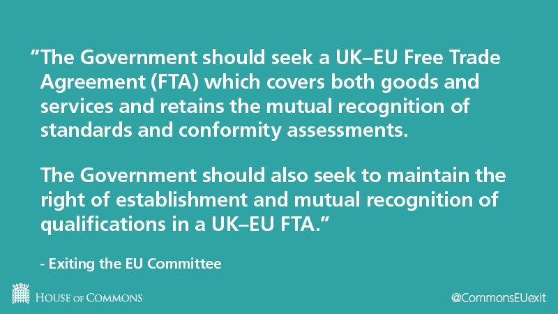 Exiting The Eu Cttee On Twitter Our Report Recommends That A Ukeu