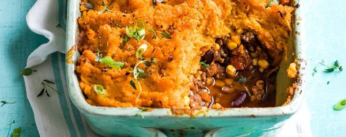 Tex-Mex shepherd's pie