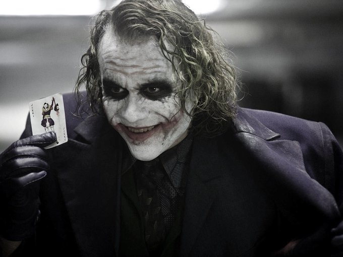 The greatest to ever do it. Happy birthday to Heath Ledger. He would\ve been 38.