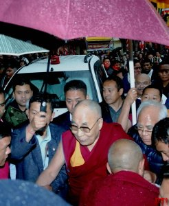 The #DalaiLama arrives at #Bomdila in West Kameng district, marking the beginning of his nine-day visit to #ArunachalPradesh.