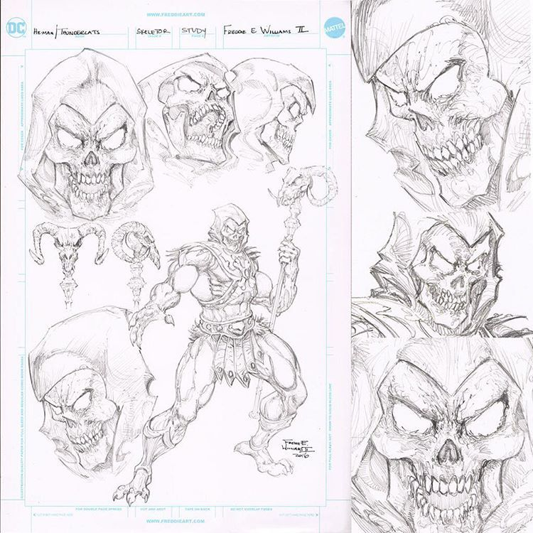 hopefully these samples of pencil study will be included in the upcoming he manthundercats trade of which the official release has been fixed for july 5 - Thunder Cats Coloring Book Pages