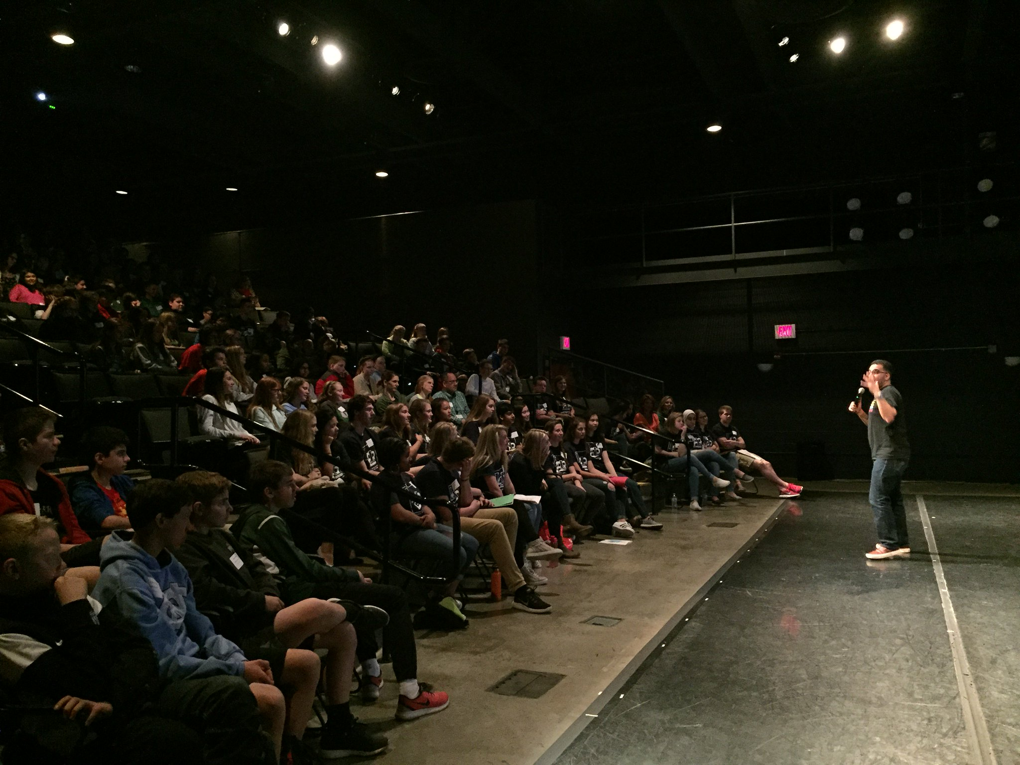 """About 185 middle & high school students who have pledged to be drug free are participating in """"Learn to Lead"""" today. #theDublinDifference https://t.co/arViz3wQS3"""