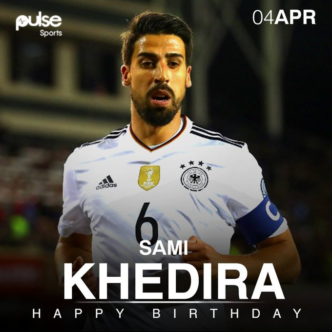 70 caps for Germany, 12 trophies for club & country. . Happy birthday to World Cup winner Sami Khedira!