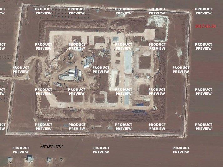 Турция разворачивает военные базы в северной Сирии