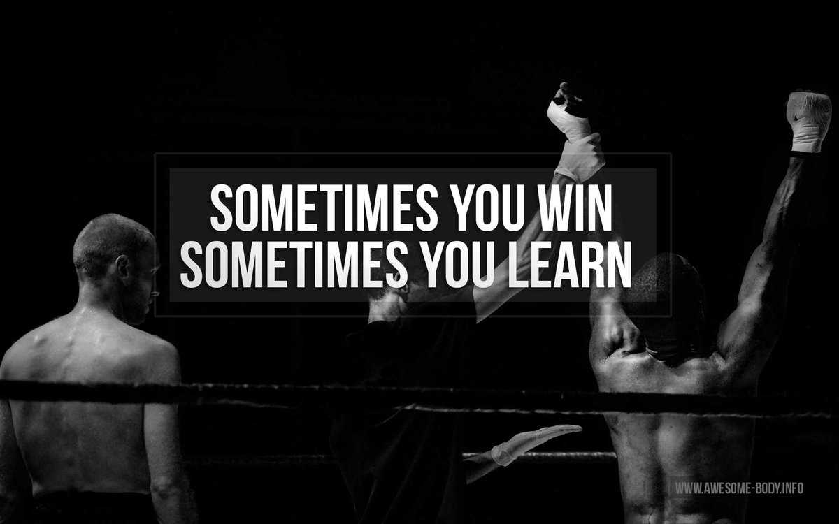 "Sport Wallpaper Motivation: Outspoken On Twitter: """"Sometimes You Win, Sometimes You"