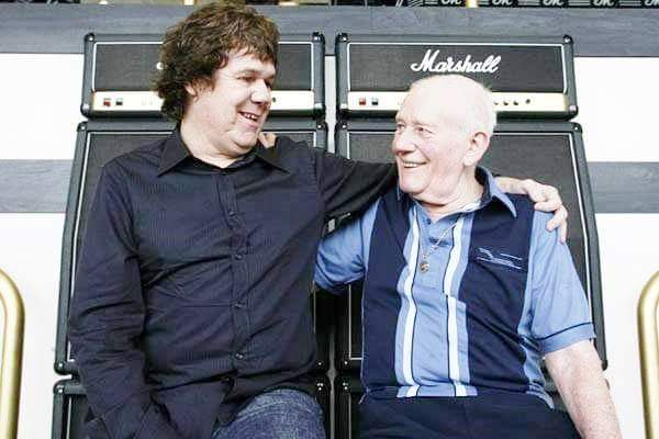 - happy birthday Gary Moore. Marshall & Moore destined to meet for the love of music. RIP GARY !!
