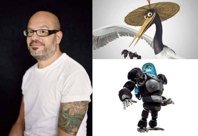 Happy 53rd Birthday to David Cross! The voice of Crane in Kung Fu Panda and Minion in Megamind.
