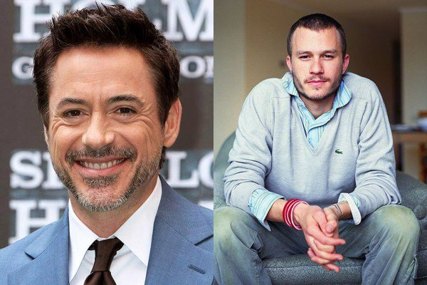 April 4: Happy Birthday Robert Downey, Jr., and Heath Ledger