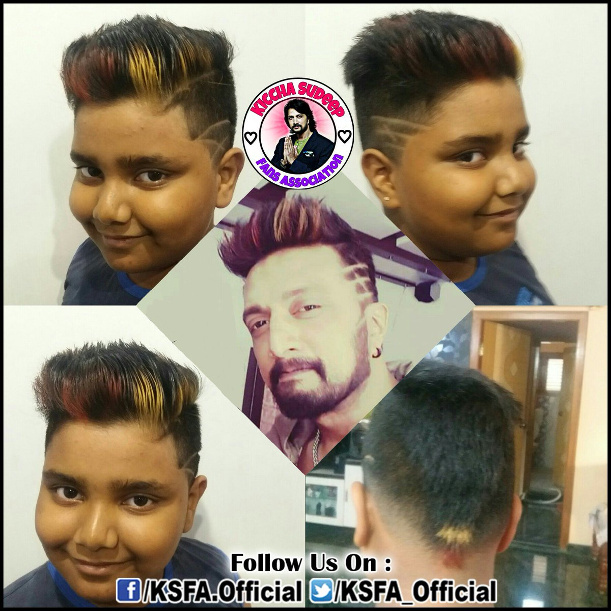 KICCHASUDEEPFANS(A)® @KSFA_Official. Replying to @KSFA_Official @ KicchaSudeep ...