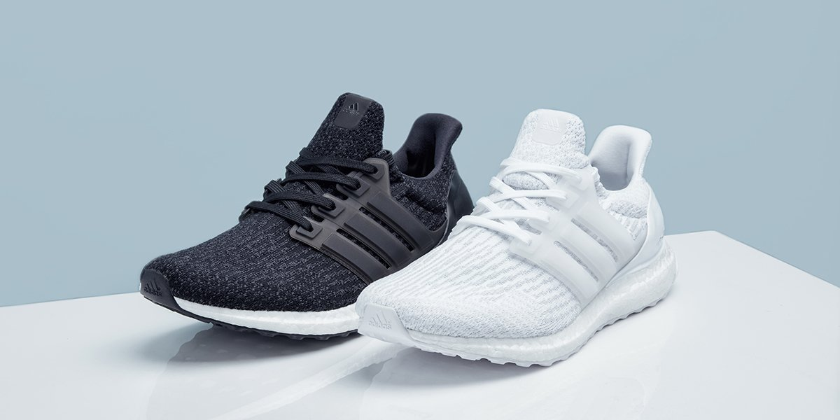 579dd32e The @adidas #UltraBoost 3.0 Core Black and Triple white are now back in  stock: http://bit.ly/2oBCWsV pic.twitter.com/dm6nE0FtAS