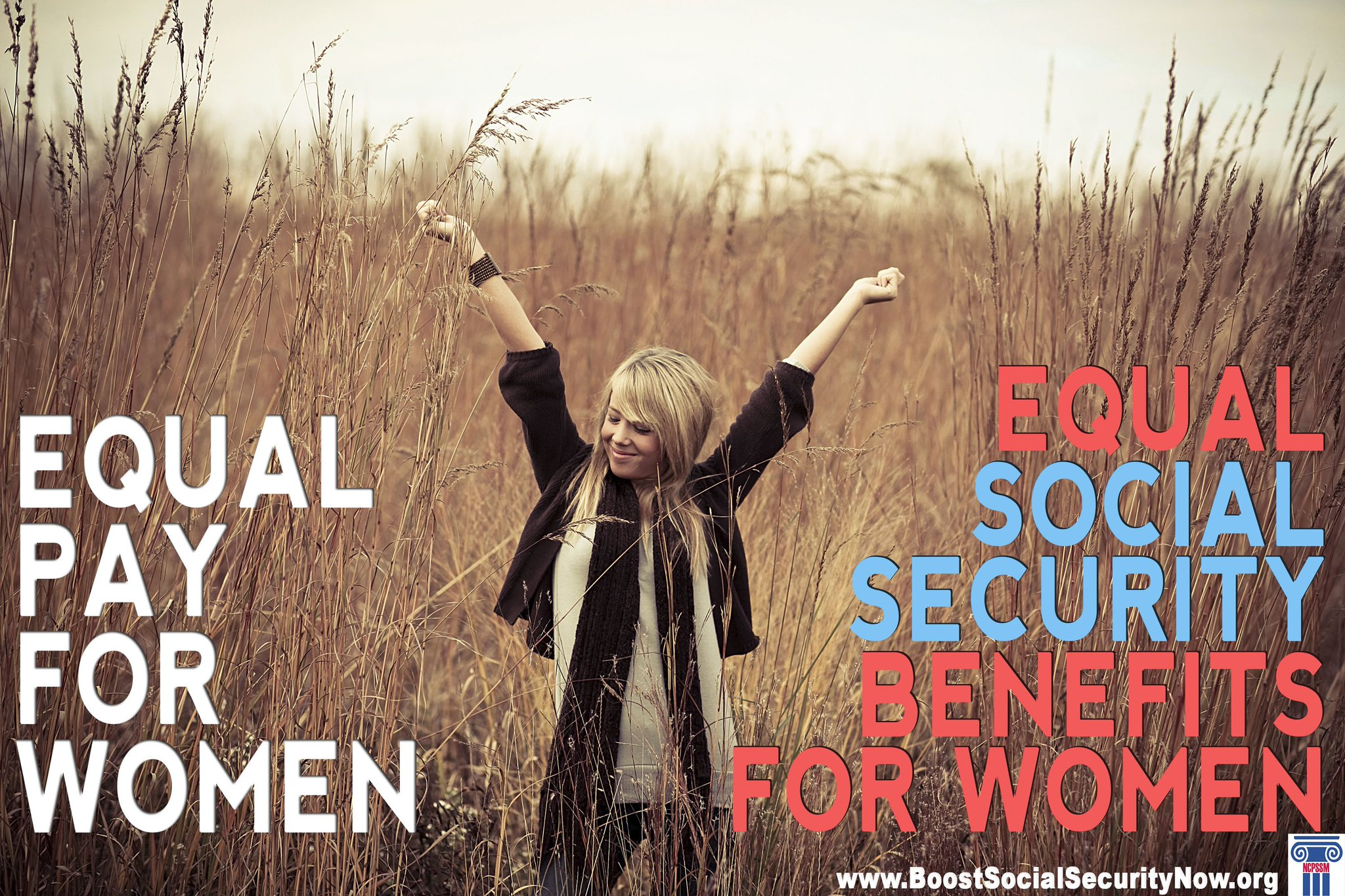 Today is #EqualPayDay -- Remember, Equal Pay for women = Equal #SocialSecurity benefits for women. https://t.co/t2zlkhr52Y