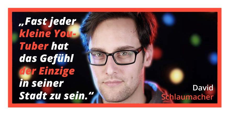 Ein Zitat aus David Schlaumachers Gastartikel zu lokalen Webvideo-Communitys.