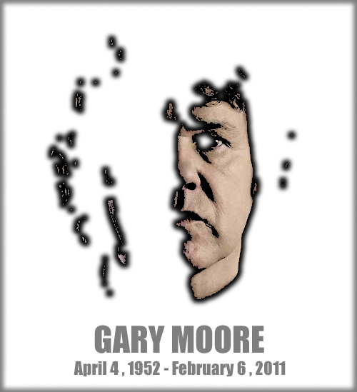 Happy birthday Gary Moore. (Click this picture to change the image.)