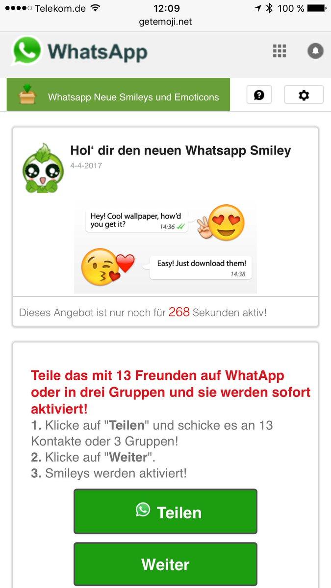 Shorttech On Twitter Wieder Ein Whatsapp Kettenbrief